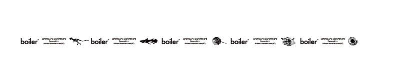 boiler® ロゴテープ