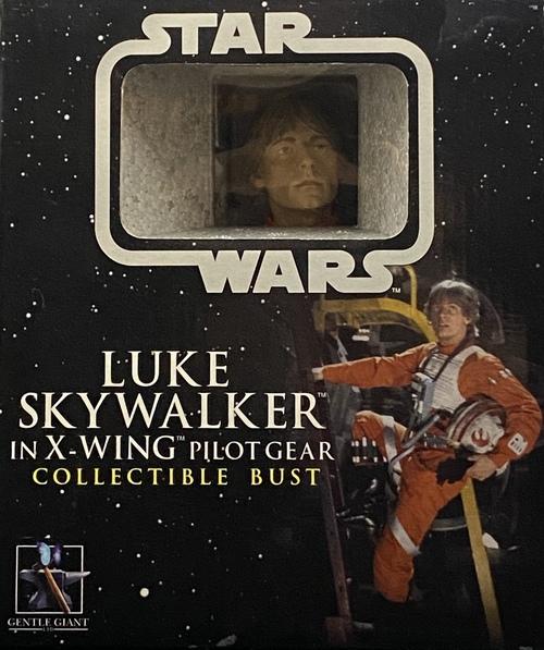 LUKE SKYWALKER IN X-WING PILOT GEAR COLLECTIBLE BUST[GENTLE GIANT]