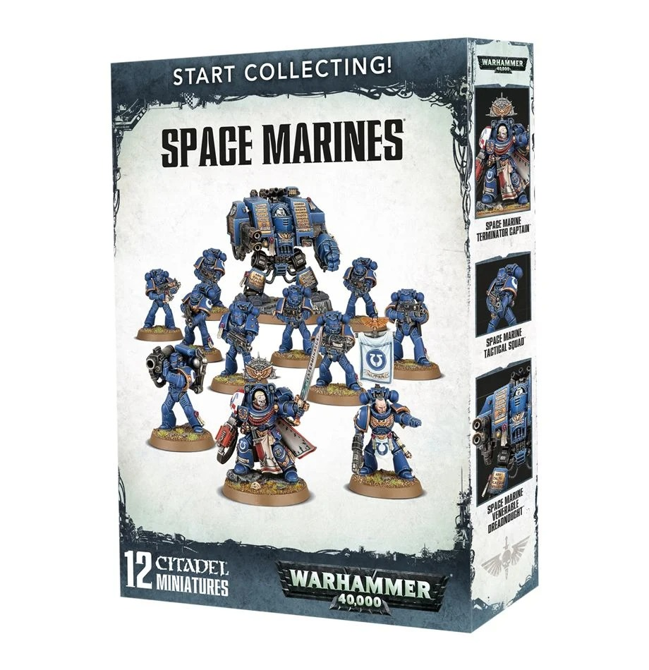 [お取り寄せ商品]START COLLECTING! SPACE MARINES