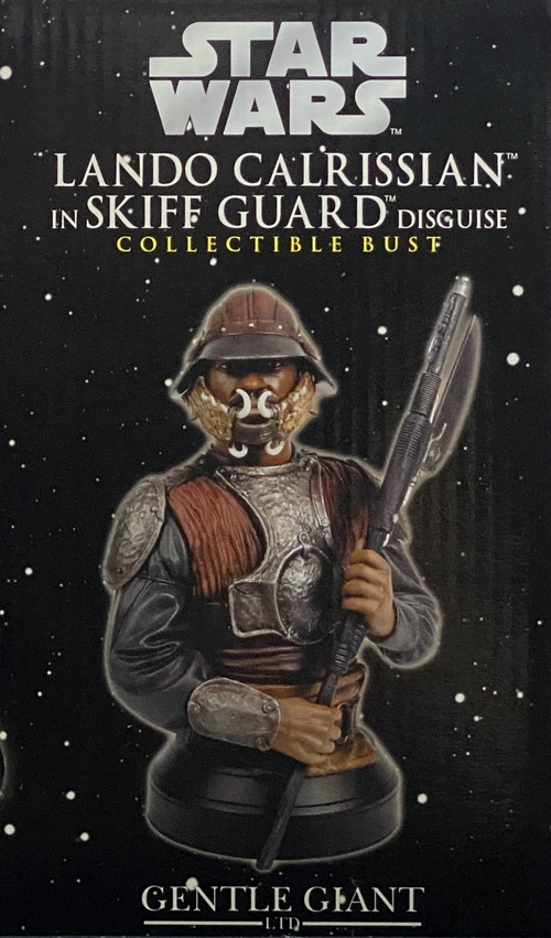LANDO CALRISSIAN IN SKIFF GUARD DISGUISE COLLECTIBLE BUST[GENTLE GIANT]