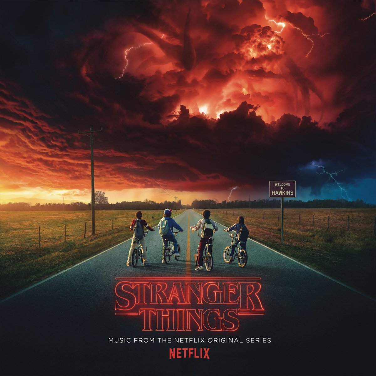 STRANGER THINGS : SEASONS ONE AND TWO