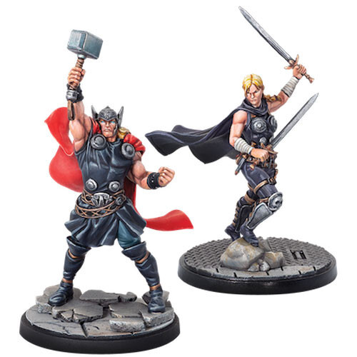 Marvel: Crisis Protocol - Thor & Valkyrie Character Pack