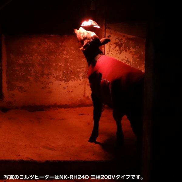 Panasonic / パナソニック コルツヒータ NK-RH12C [ペットや動物の暖房器具 吊り下げ型 300W 1灯式]