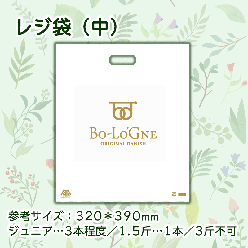 ボローニャレジ袋(中)