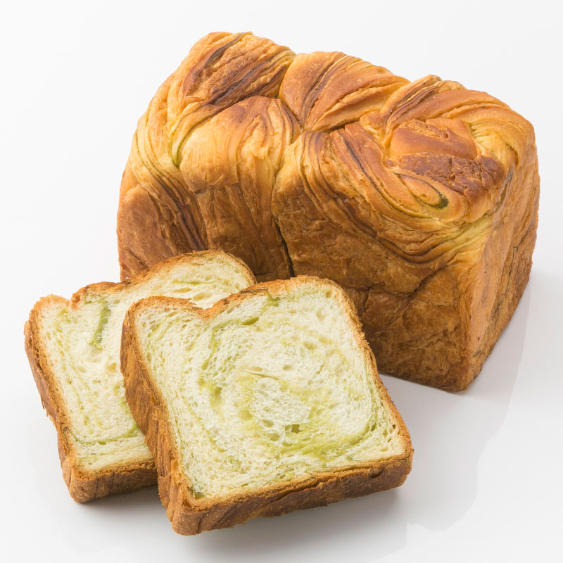 ボローニャデニッシュ食パン 抹茶 1.75斤