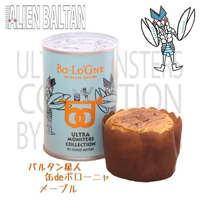ウルトラマン缶deボローニャ(バルタン星人缶 / メープル) 【缶製品】