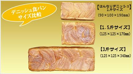 京都祇園ボロニヤ デニッシュ 食パン プレーン3斤 ギフト(化粧箱入)