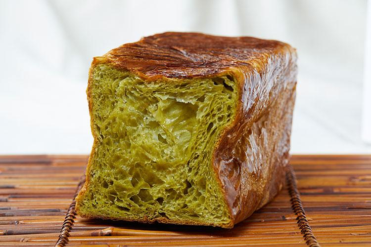 京都祇園ボロニヤ  デニッシュ食パン 抹茶 1.5斤