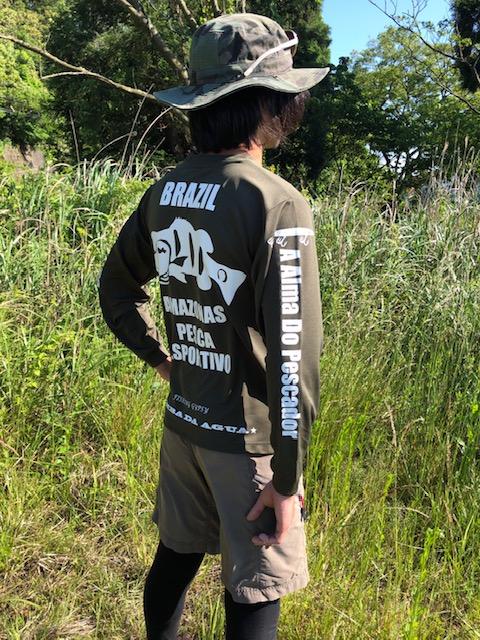 Dry Long Sleeves PEACOCK アーミーグリーン【Web限定カラー】