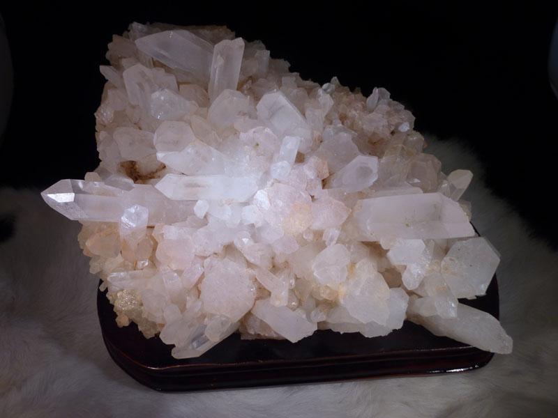 マダガスカル水晶クラスターN0747-2970