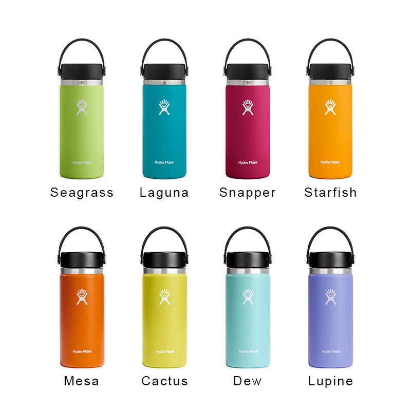 ハイドロフラスク/Hydro Flask 16 oz Wide Mouth ステンレスボトル(473ml)