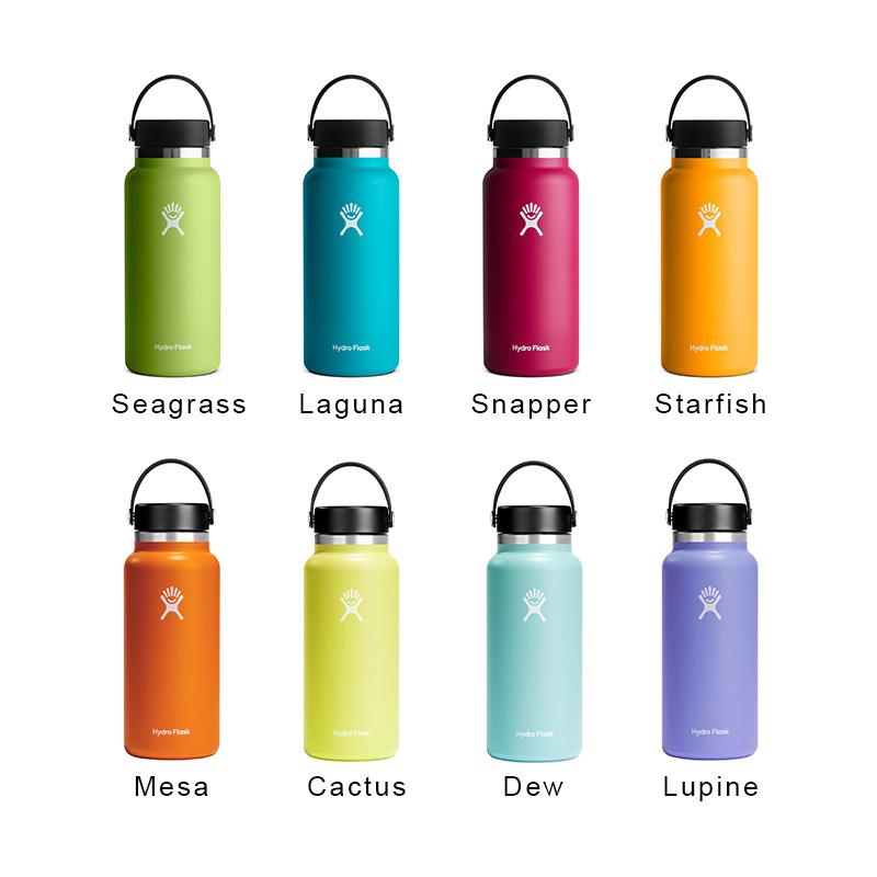 ハイドロフラスク/Hydro Flask 32 oz Wide Mouth ステンレスボトル(946ml)