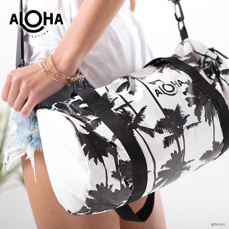 アロハコレクション/Aloha Collection Printed Mini Duffle ミニダッフルバッグ