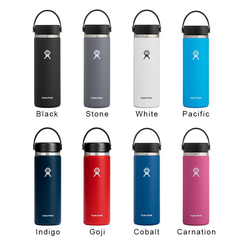 ハイドロフラスク/Hydro Flask 20 oz Wide Mouth ステンレスボトル(591ml)