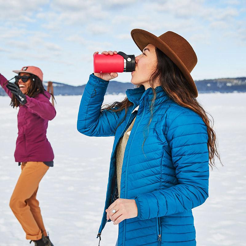 ハイドロフラスク/Hydro Flask 12 oz Flex Sip ステンレスボトル(354ml)【Valentine】