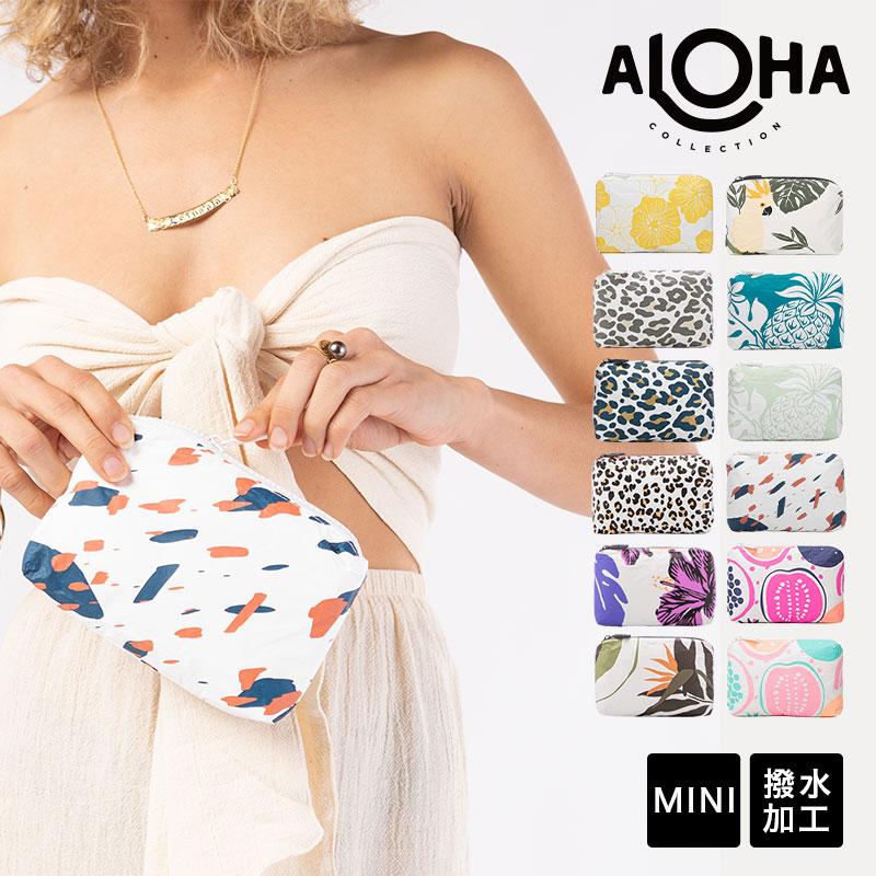 【MINI】アロハコレクション/Aloha Collection Pouch MINI POUCH 撥水ポーチ MINIサイズ