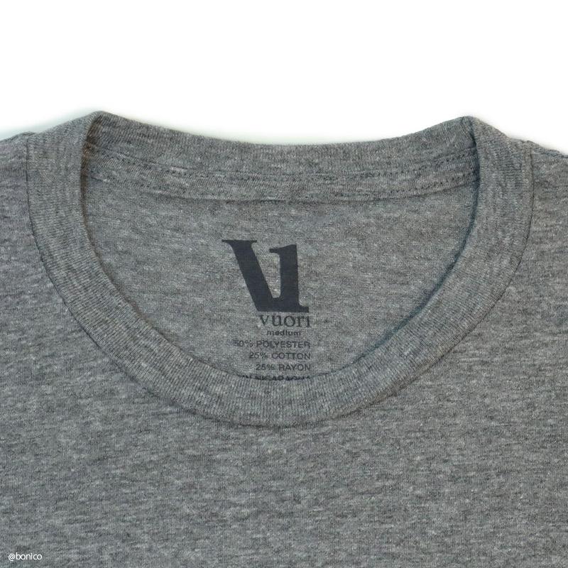 ヴオリ/Vuori V1 LOGO TEE メンズTシャツ
