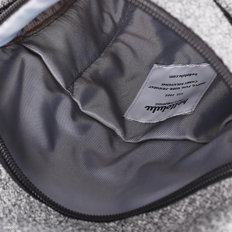 【2020秋冬モデル】ハロルル/Hellolulu DESI-MELANGE(デシメランジ)スリングバッグ/ミニショルダーバッグ