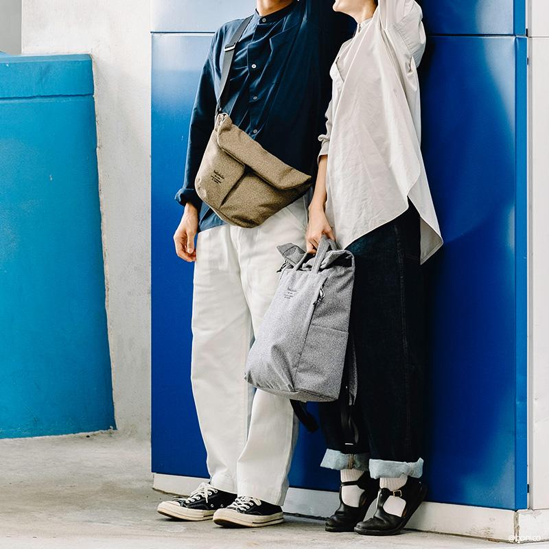 【2020秋冬モデル】ハロルル/Hellolulu KASEN-MELANGE(カセンメランジ)ショルダーバッグ