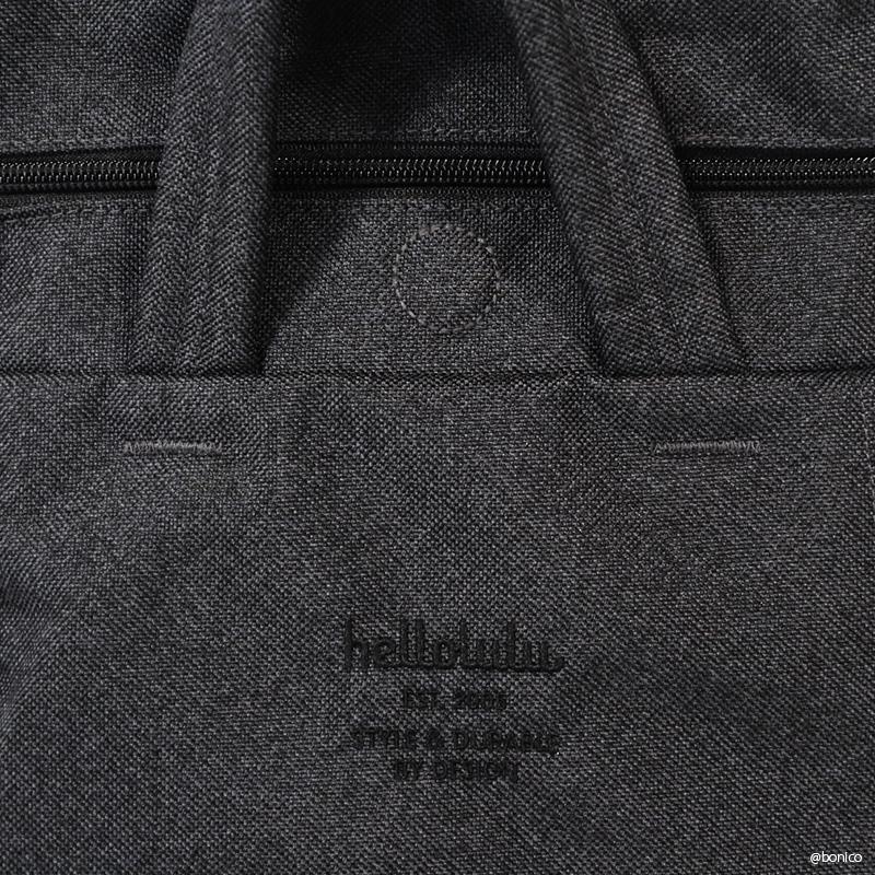 ハロルル/Hellolulu TATE-MELANGE(テイトメランジ) PC収納付2WAYバックパック