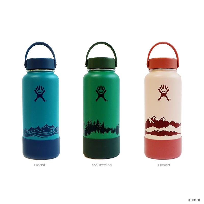 ハイドロフラスク/Hydro Flask Escape Collection 32oz Wide Mouth ステンレスボトル(946ml)