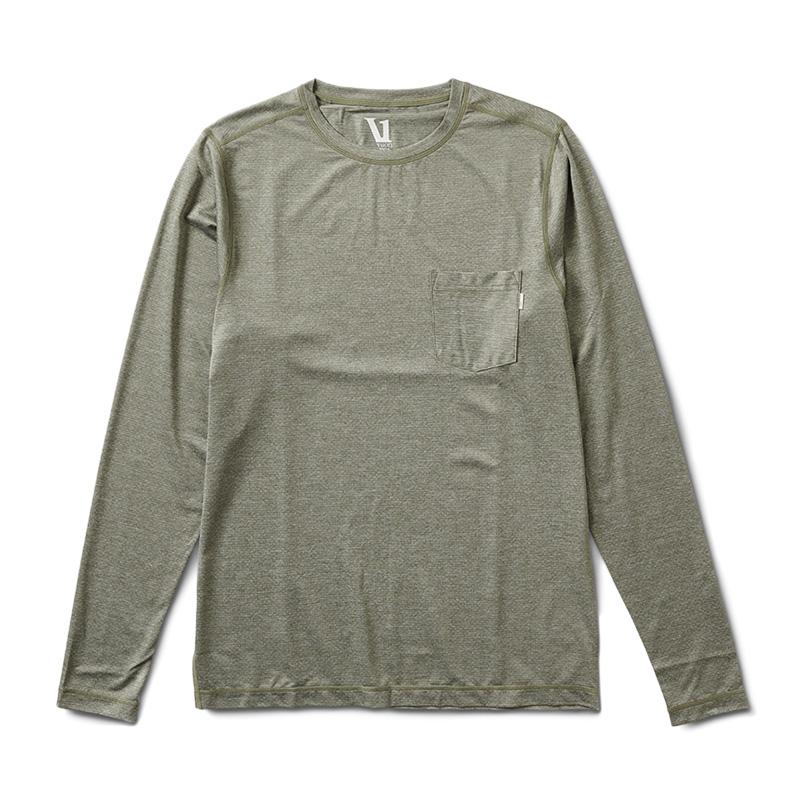 ヴオリ/Vuori L/S TRADEWIND PEFORMANCE TEE メンズロングTシャツ