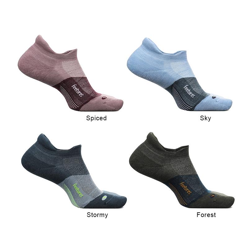 フィーチャーズ/Feetures MERINO 10 NO SHOW TAB ランニングソックス