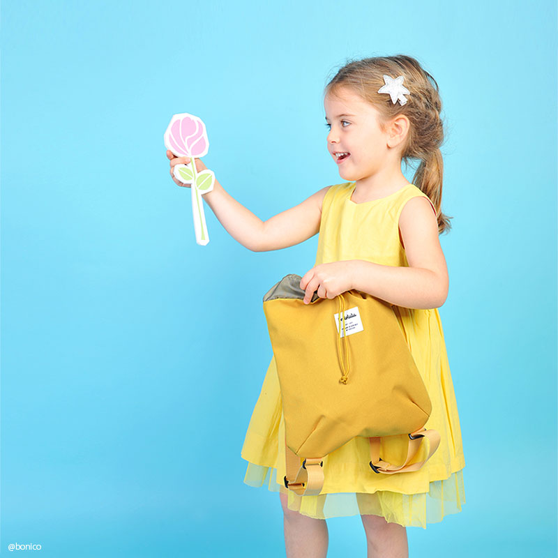 【50%OFF】ハロルル/Hellolulu PIPER(パイパー)シンプルデイパック・リュック for KIDS【返品・交換不可】