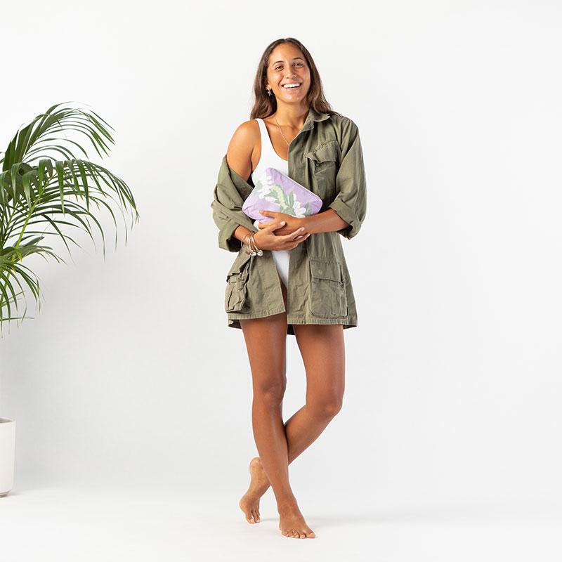 【S】アロハコレクション/Aloha Collection Transfer Pouch S 撥水ポーチ Sサイズ