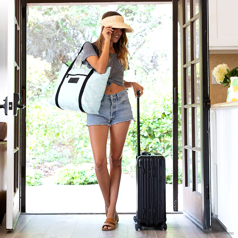 アロハコレクション/Aloha Collection Transfer Zipper Tote トートバッグ