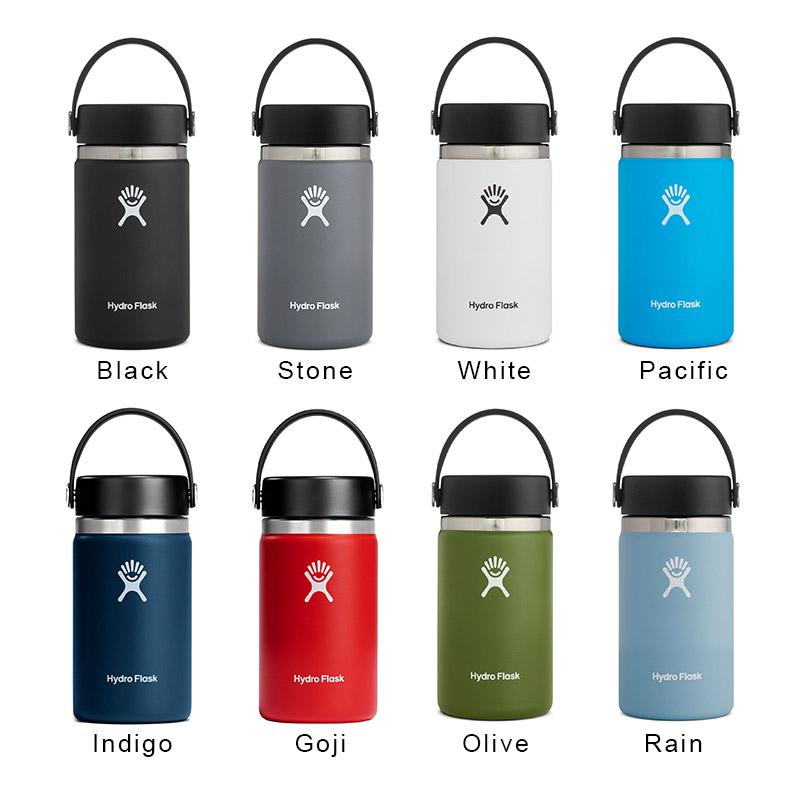 ハイドロフラスク/Hydro Flask 12 oz Wide Mouth ステンレスボトル(354ml)