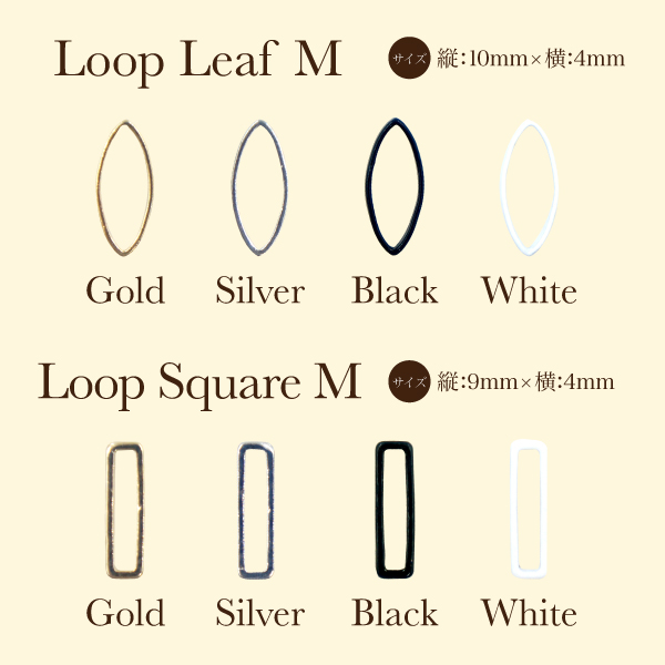 Bonnail×RieNofuji Loop M _a0334