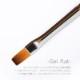ボンネイル ジェルネイル ブラシ 筆 フラット グラデーション マルチ@flicka nail arts mani2 gel flat