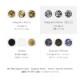 ボンネイル ジェルネイル パーツ アート ホロ ミックス@flicka nail arts Spice Bits Diagram-Mono- _865610