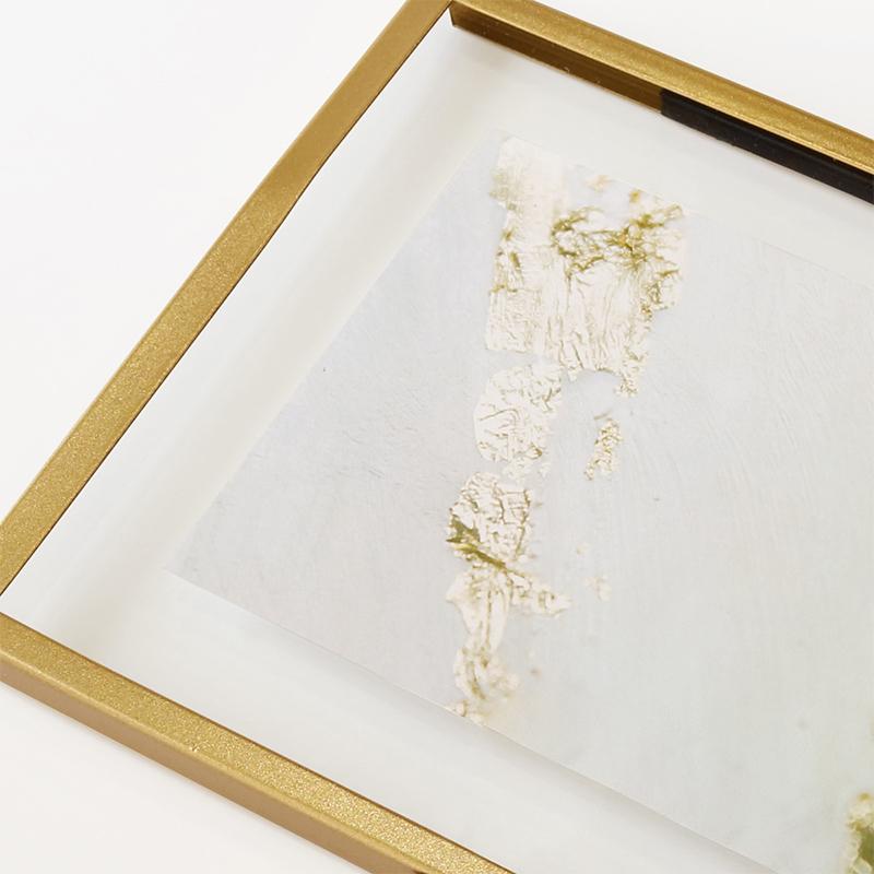 ボンネイル ジェルネイル サンプル チップ ディスプレイ サロン 装飾 撮影 小物@Bonnail ゴールドフレーム フォトスタンドS _865622