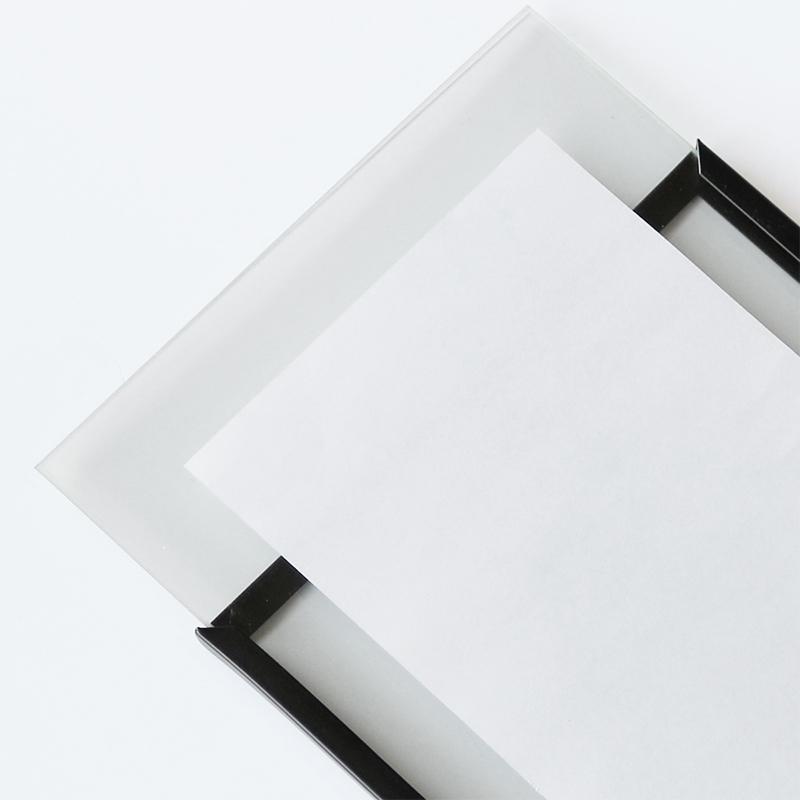 ボンネイル ジェルネイル サンプル チップ ディスプレイ サロン 装飾 撮影 小物@Bonnail ブラックフレーム フォトスタンドS _865625