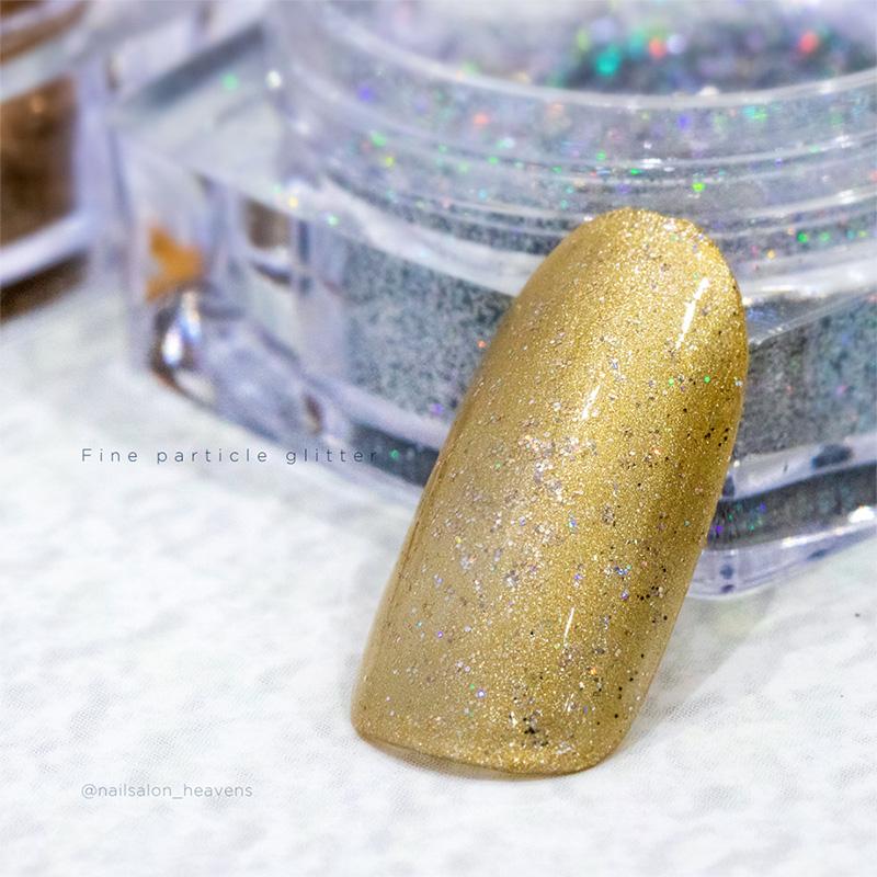ボンネイル ジェルネイル ラメ グリッター アート 素材 ゴールド シルバー オーロラ@Bonnail my blend glitterセット _865603