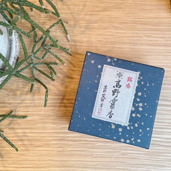 銘香高野霊香3寸 [大箱]