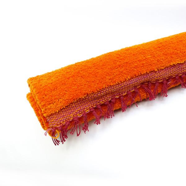 瞑想マット(カラー:えんじ/オレンジ/赤)