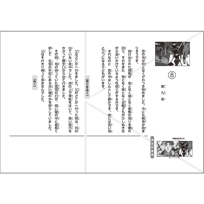 (2021-6442)夢十夜/名作あらすじ紙芝居シリーズ6 原作:夏目 漱石