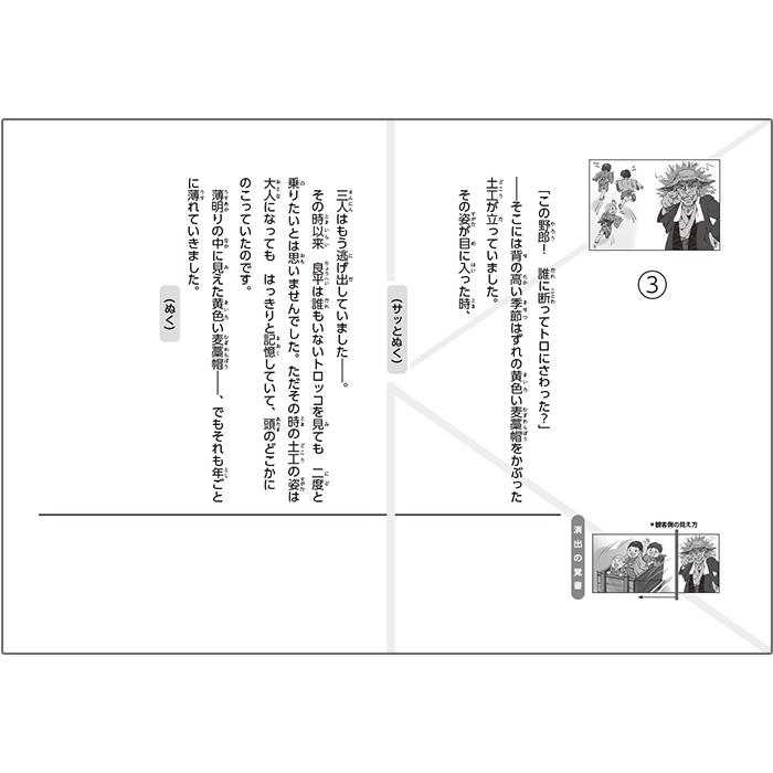 (2021-6443)トロッコ/名作あらすじ紙芝居シリーズ7 原作:芥川 龍之介