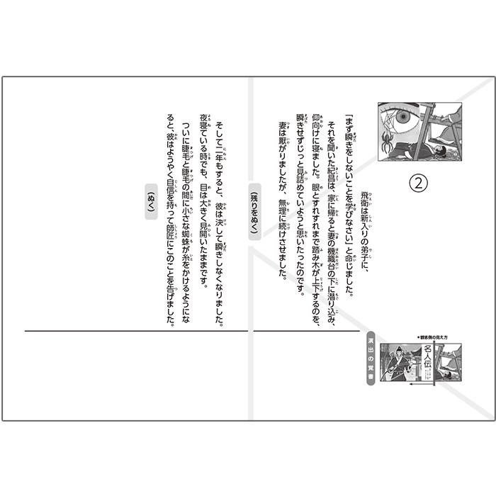 (2021-6445)名人伝/名作あらすじ紙芝居シリーズ9 原作:中島 敦