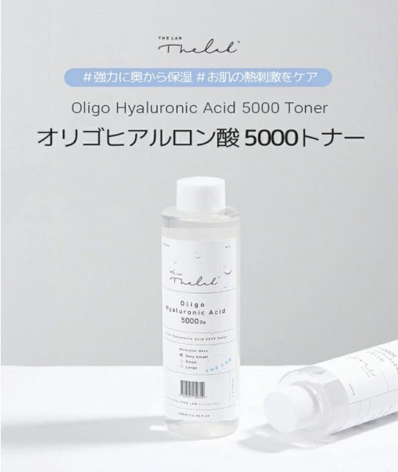 【THE LAB by blanc doux】オリゴヒアルロン酸5000トナー★容量500ml