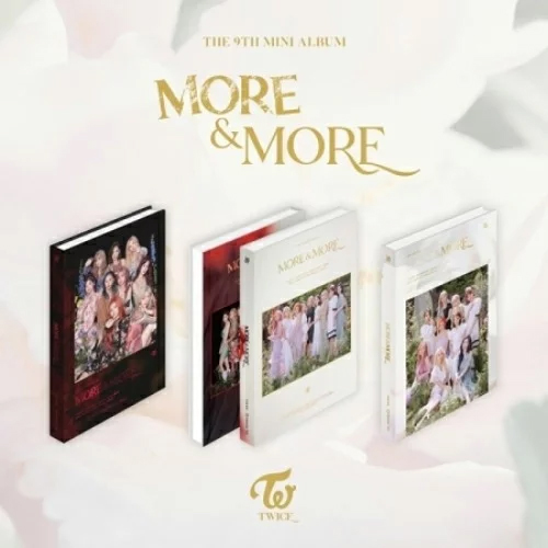 【TWICE】MORE & MORE ★9th mini album【輸入盤】バージョン・ランダム発送/選択不可