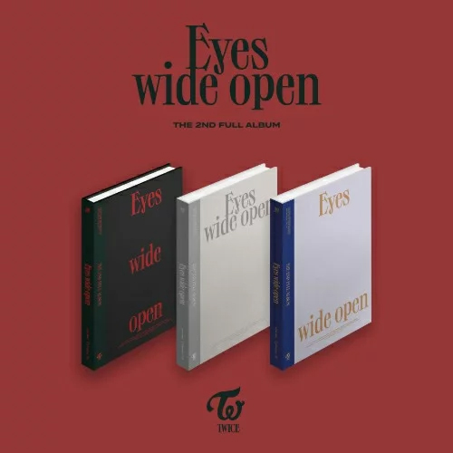 【TWICE】 Eyes Wide Open ★【輸入盤】バージョン・ランダム発送/選択不可
