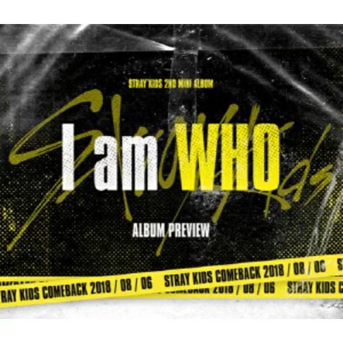 【STRAY KIDS】I am WHO ★2ND MINI album【輸入盤】バージョン・ランダム発送/選択不可