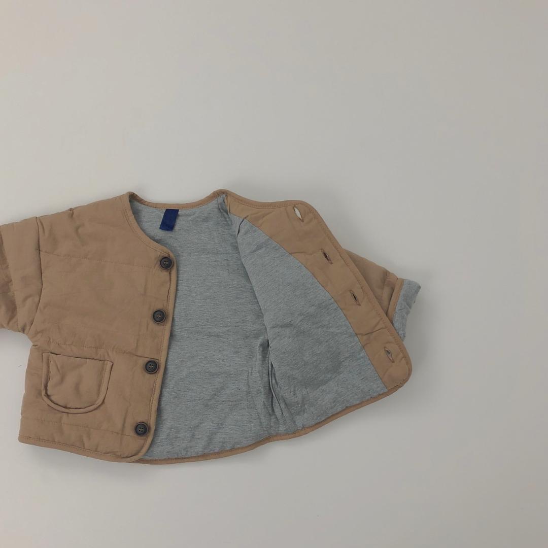 ノーカラーmiliジャケット