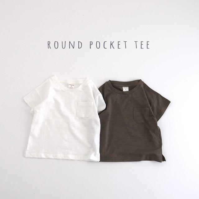 ラウンドポケTシャツ