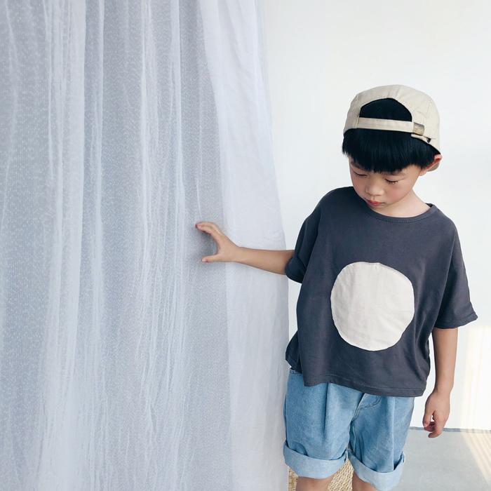 サークルワイドTシャツ