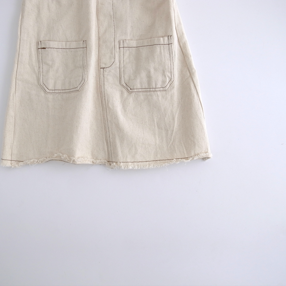 forestジャンパースカート #アイボリー